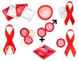collage condoms