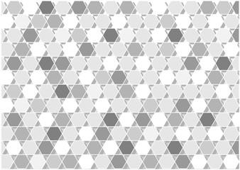 grey vector hexagons background