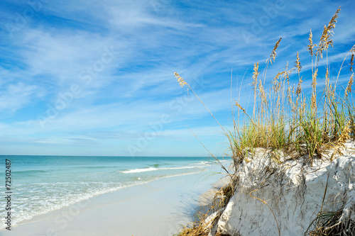 Fotobehang Kust Beautiful Florida Coastline