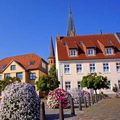SCHLESWIG ( Schleswig-Holstein) - Stadtpanorama