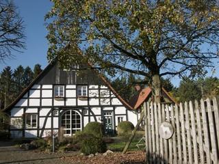 Restauriertes Bauernhaus in Lipperreihe im Teutoburger Wald