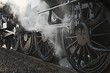 Leinwandbild Motiv Steam Locomotive