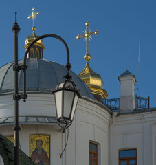 Киевская лавра. осень. утро