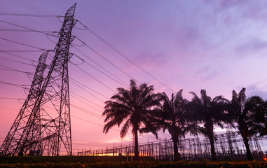 Electricity pylons (power, lines, transmission)