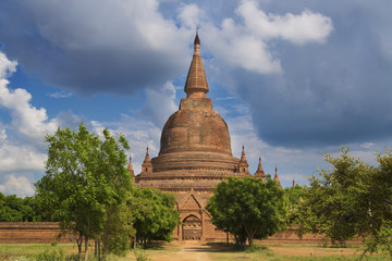 Single Padoga in Bagan, Myanmar