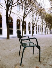 Palais Royal in autumn