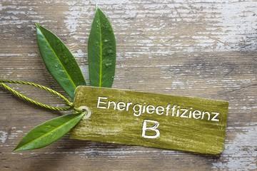Energieeffizienz B - Label