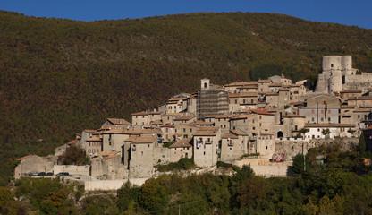 Polino, piccolo borgo medievale in umbria