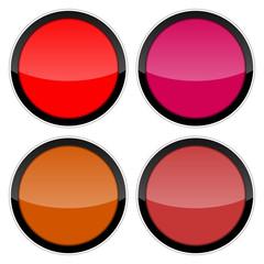 button 2014102 farbige rot toene I