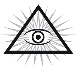 eye of God (triangle)