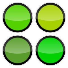 button 2014102 farbige gruen toene I
