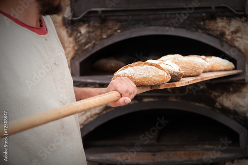 Staande foto Brood bread