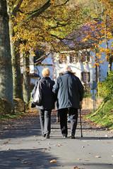 Senioren im Herbst