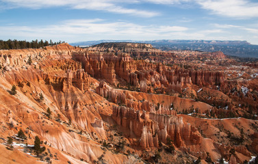 Sunrise point overlook, Bryce Canyon National Park, Utah, USA