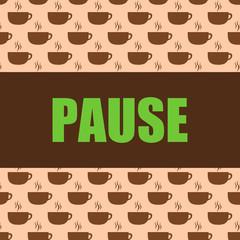 button kaffeetassen pause II