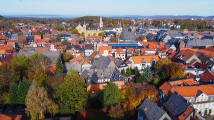 Panoramablick über Goslar