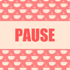 button kaffeetassen pause III