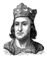 Medieval King - France - 13th century