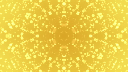 Gold Particle Kaleidoscope