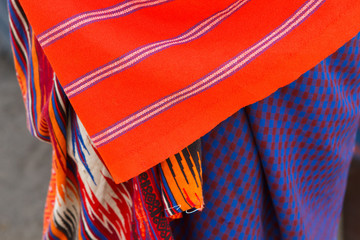 Closeup of Masai tribe
