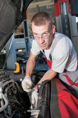 auto maintenance serviceman