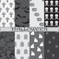 Halloween set for scrapbooking