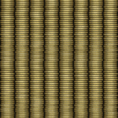 Coin stack texture, seamless