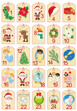 Advent Calendar-Calendario dell