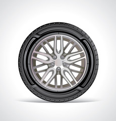 The icon of the sport wheel