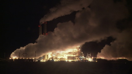 Power Plant Pollution Time-lapse