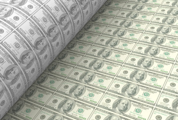 printing US dollar banknotes