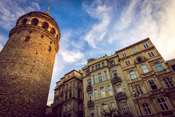 Galata tower in afternoon