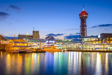 Fukuoka, Japan Waterfront Skyline