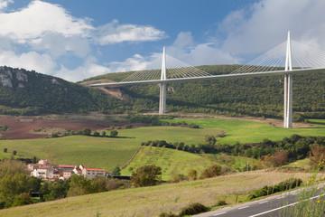 bridge over valley