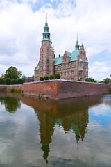Renaissance style Rosenborg Castle in Copenhagen, Denmark