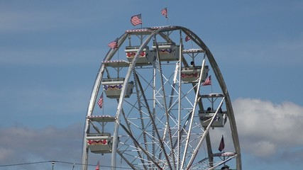 Ferris Wheel, Amusement Park Rides