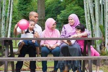 Muslim family lifestyle
