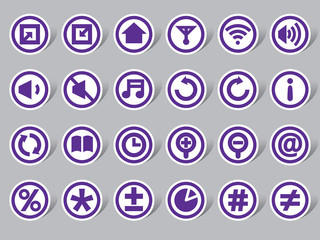Control Panel Color Icon Label