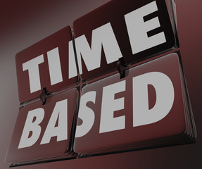 Time Based Words Clock Retro Tiles Flipping Measure Results