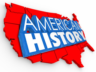 American History 3d Words USA Map Learning United States Educait