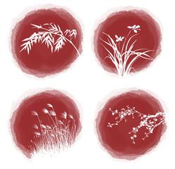 ink drop plants