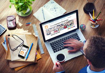 Digital Online Internet Browsing Development