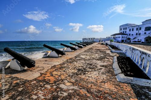 Deurstickers Vestingwerk Cape Coast Castle - Ghana