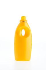 Fabric softener bottle isolated