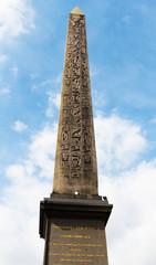 Paris. France. Obelisk in the Place de la Concorde.