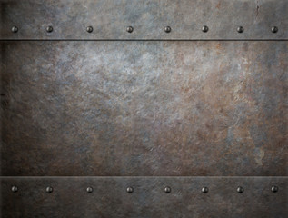 old rusty metal background