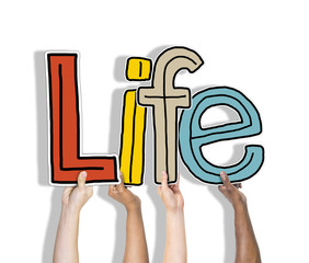 Life Alive Being Breath Exist Birth Concepts