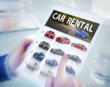 Digital Online Search Car Rental Concepts