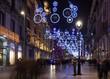 Obrazy na płótnie, fototapety, zdjęcia, fotoobrazy drukowane : Christmas decorations  in Barcelona, Spain