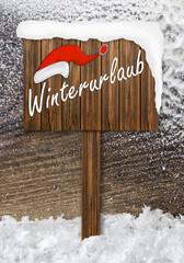 Winterurlaub - Weihnachtszeit